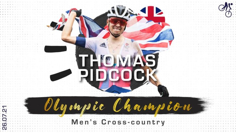Tom Pidcock claims Mountain Bike XCO gold at his first games | Tokyo 2020 Olympics
