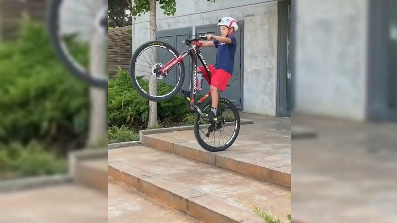 🤯 TALENTED Kid on Bike! ⚡🤟