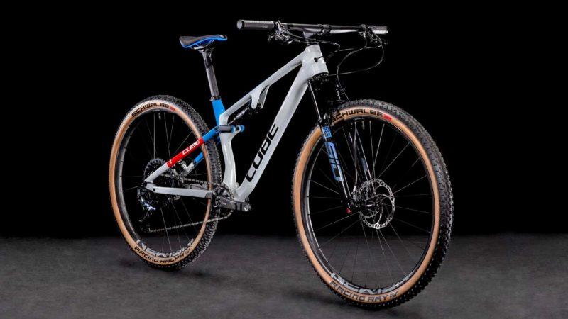Cube AMS Zero99 & One11 light carbon XC & Trail bikes