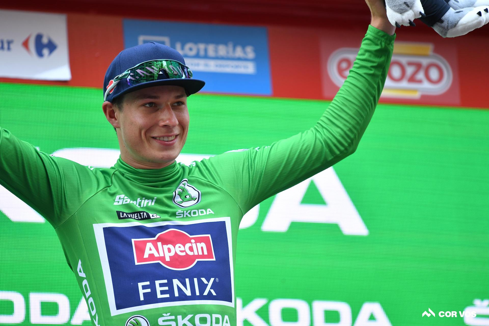 Jasper Philipsen opouští Vueltu před 11. etapou