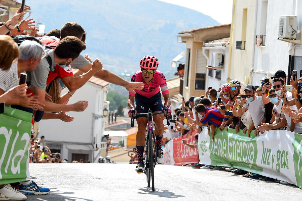 Cort comes close to second Vuelta a España stage win on Spanish 'Mur de Huy'