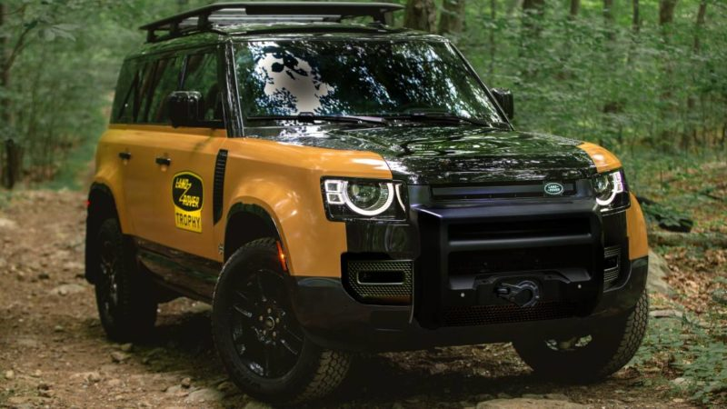 Land Rover Unveils Extremely Limited 'Trophy Edition' Defender: Buyers Invited to Exclusive Off-Road Contest