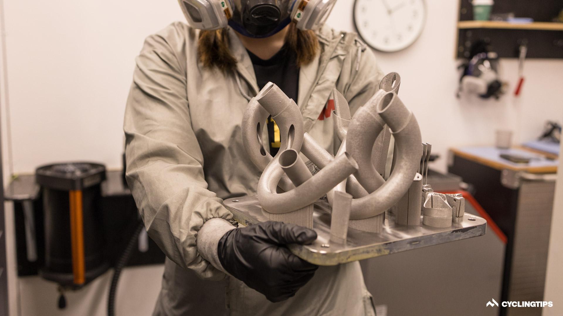 Cómo imprimir titanio en 3D con Bastion Cycles