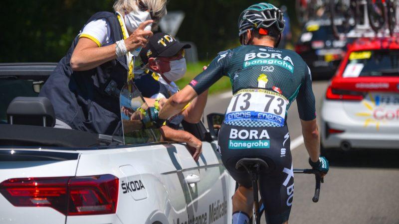 Un crash prive Bora-Hansgrohe de toutes ses options à Saint-Sébastien