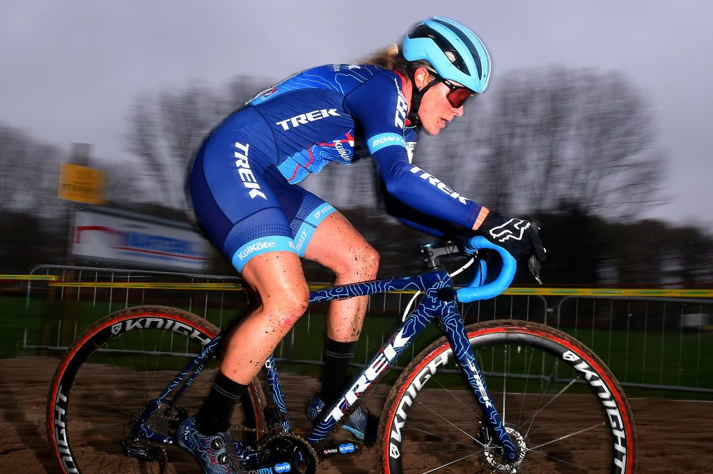 Trek 'disappointed' after learning of Katie Compton's positive test