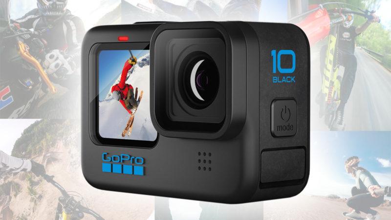 GoPro HERO 10 Black giver hurtigere billedhastigheder, processor, uploads og mere!