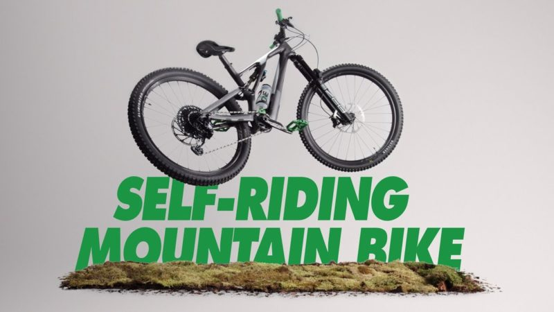 The OneUp Self-Riding Mountain Bike