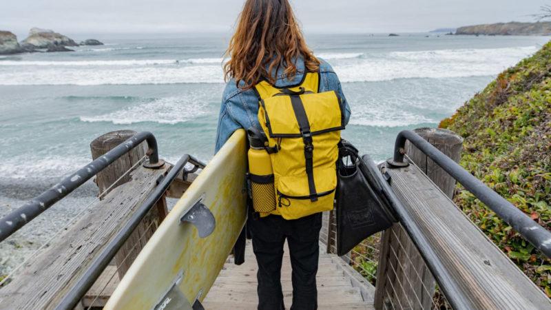 Mission Workshop trägt es mit neuem Speedwell VX Pack und Mission Pro Shorts mit Taschen