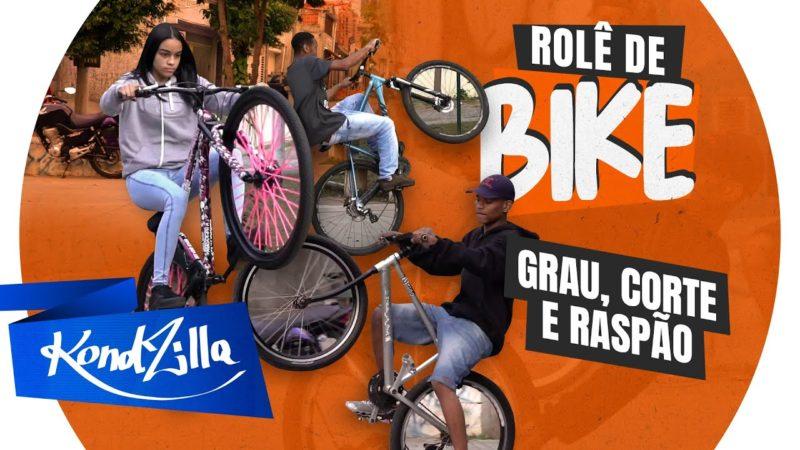 """Rolê de Bike – """"Quebrei o braço e ralei a cara no chão"""" (KondZilla)"""