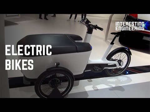 8 Weird and interesting electric bikes