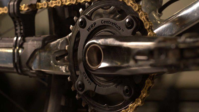 Williams Racing Products CentreHub Spider tillader pedalfrie gearskift, reduceret pedal-tilbageslag