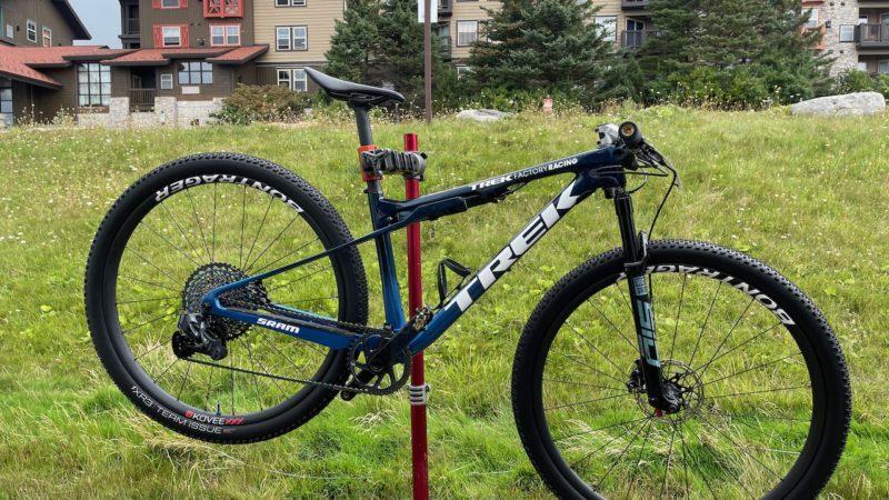 World Cup Pro Bike Check: Anton Cooper's super slammed Trek Supercaliber