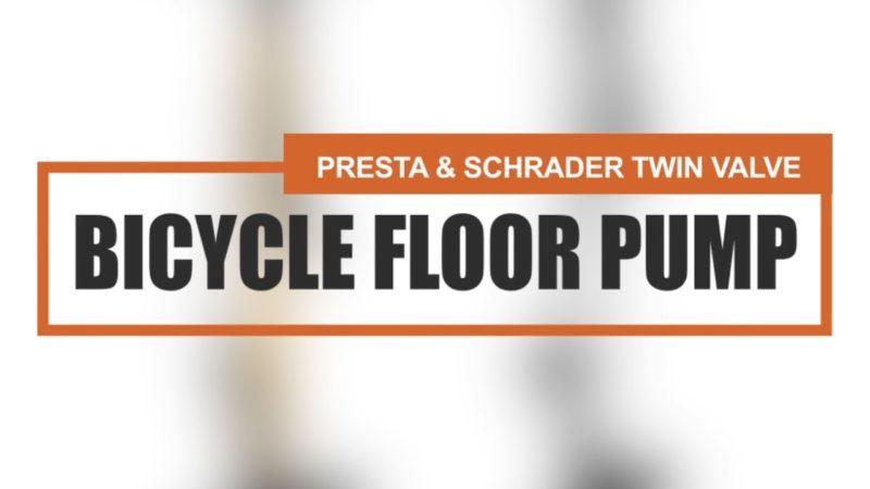 How To: Twin Valve Bike Pumps For Scrader & Presta (BV-GF55P & BV-GF31P)