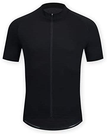 ELNOCSON Uomo Maglia da Ciclismo Manica Corta- Camicia da Mountain Bike- Asciugatura Rapida Top Abbigliamento – Traspirante