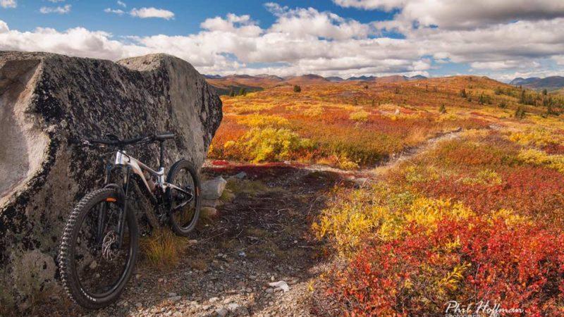 Bikerumorový obrázek dne: Whitehorse, Yukon