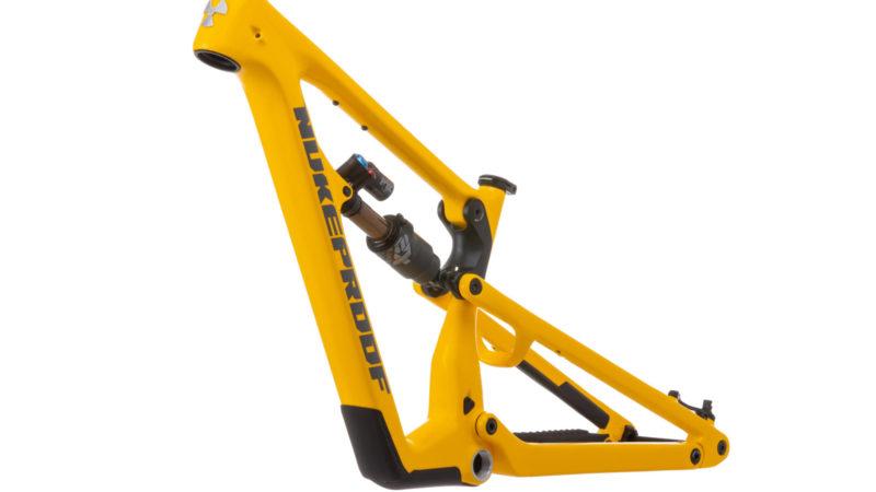 Nukeproof Mullet las bicicletas de enduro Mega y Giga para 297 conjuntos de cuadros de ruedas mixtas