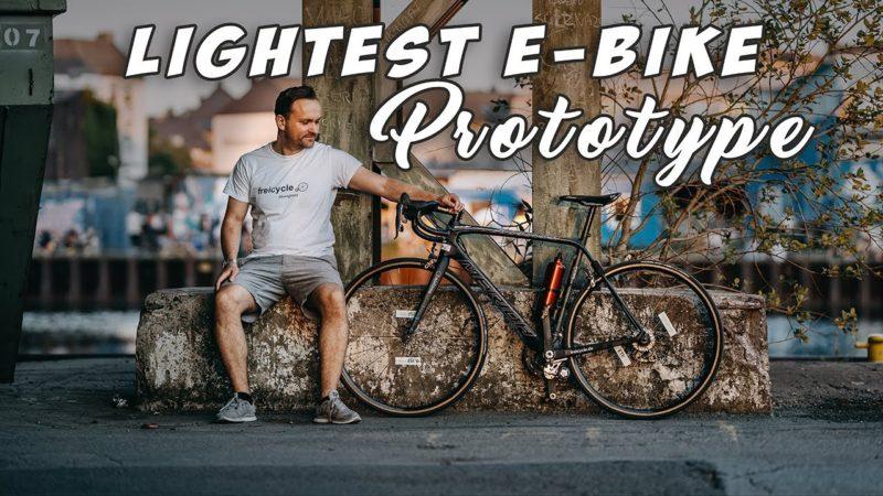LIGHTEST E BIKE in the WORLD Showreel – Guinness World Record