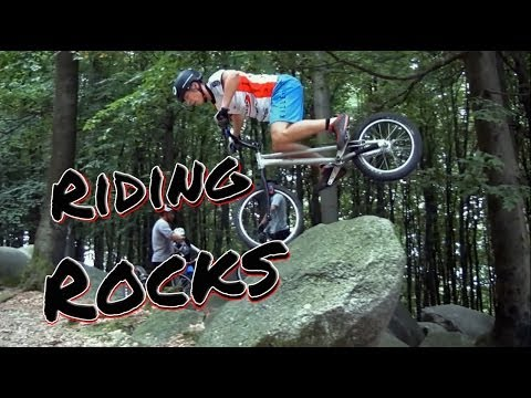Extreme Bike Sports – Riding Rocks