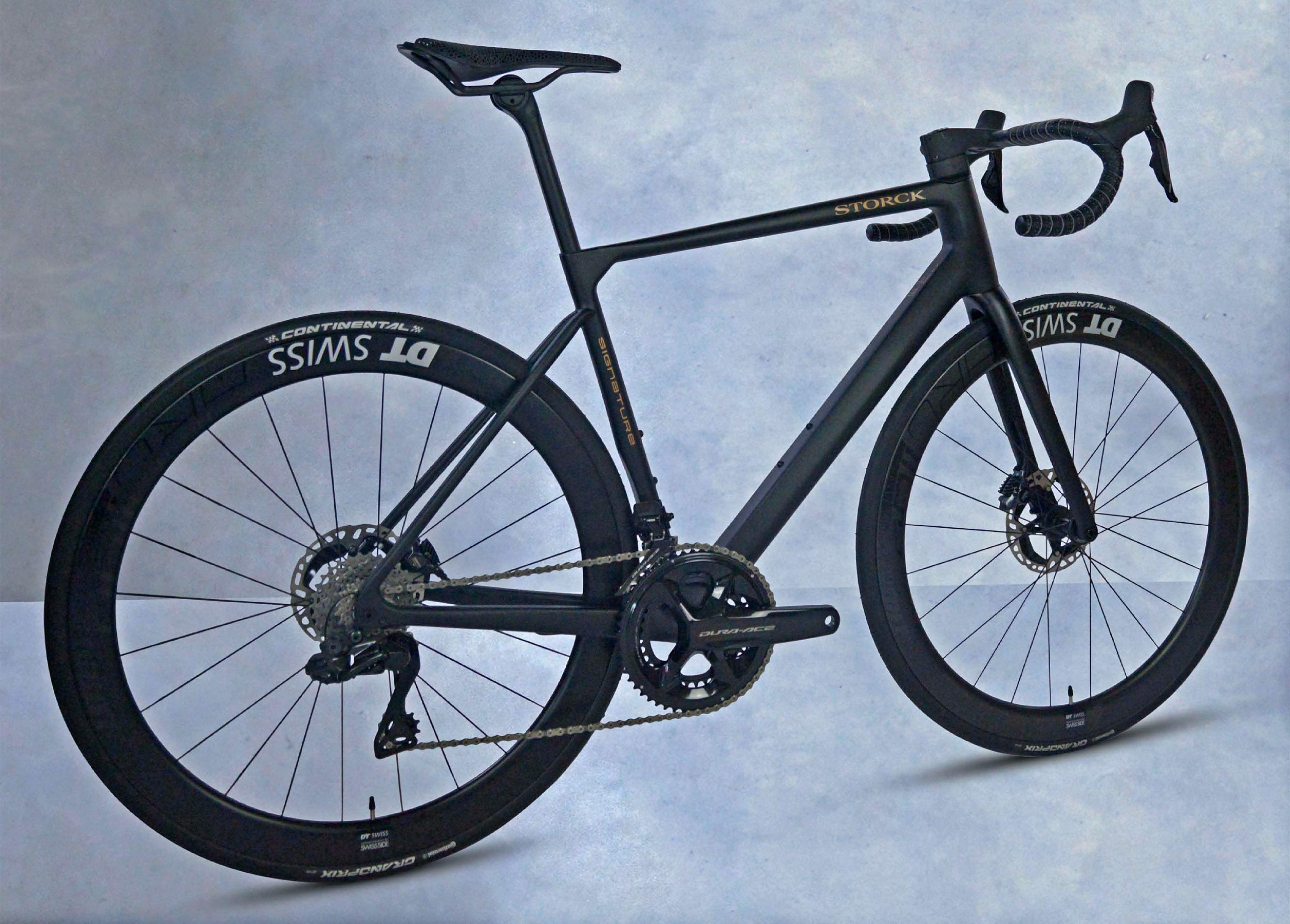 Bicicleta de estrada ultraleve de carbono Storck Aernario.3 Signature Disc