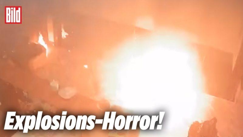 Nach Explosion: E-Bike-Akku verwandelt Büro in Flammen-Hölle