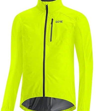 Gore Wear Veste Gore-TEX Paclite Jackets Homme, Jaune Fluo, FR