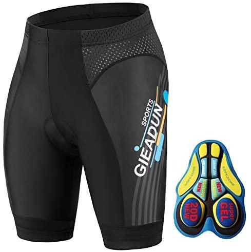 BRZSACR Culottes Ciclismo Hombre con Gel Acolchado Pantalones Cortos Ciclismo, Ciclismo Pantalones para MTB Deportes al Aire Libre
