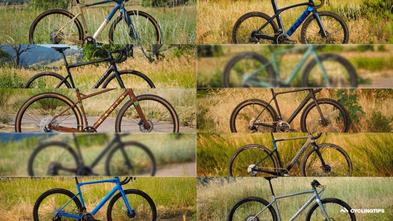 Ten bikes, four testers, and… smoke? Welcome to the third CyclingTips Field Test