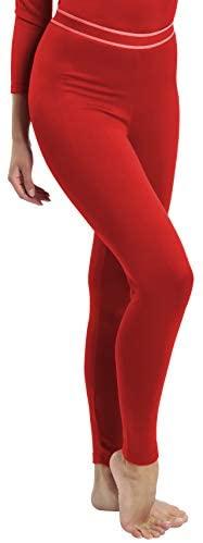 Rocky Women's Fleece Lined Thermal Bottoms Long Underwear Baselayer Pants Legging