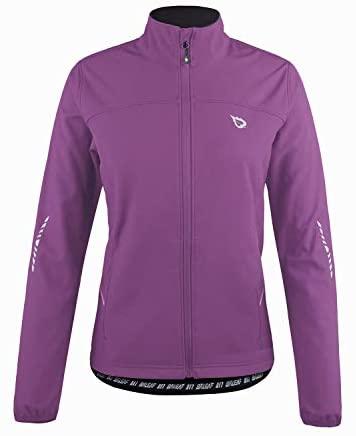 BALEAF Women's Windproof Thermal Softshell Cycling Running Winter Jacket Biking Cold Weather Waterproof Warm