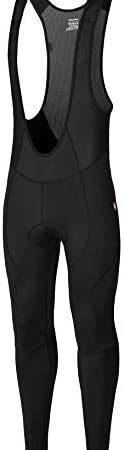 qualidyne Men's Cycling Bike Bib Tights 3D Padded Bike Pants Compression Bicycle Pants