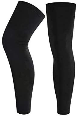 Qchomee – Manicotti a compressione per gamba, a compressione per polpaccio, per corsa, ciclismo, fitness, pallacanestro, calcio, palestra