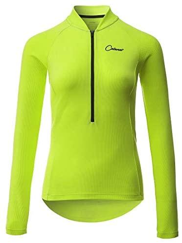 CATENA Women's Cycling Jersey Workout Shirt Running Womens Summer Tops
