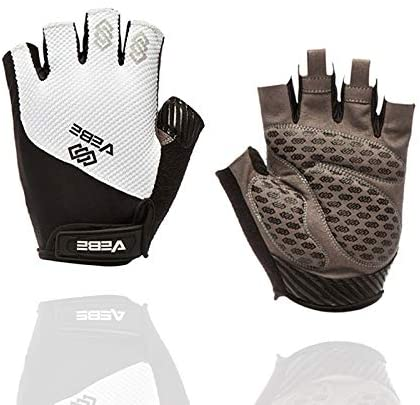 VEBE Men & Women Cycling Gloves Mountain Bike Gloves – Breathable Shock Absorbing Bicycle Gloves with 5MM Pad