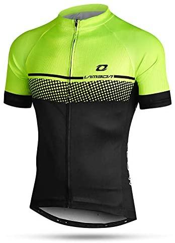 LAMEDA Maglia da Ciclismo Estivi Professionale Uomo Maniche Corte Traspirante Asciugatura Rapida Magliette MTB Abbigliamento Mountain Bike