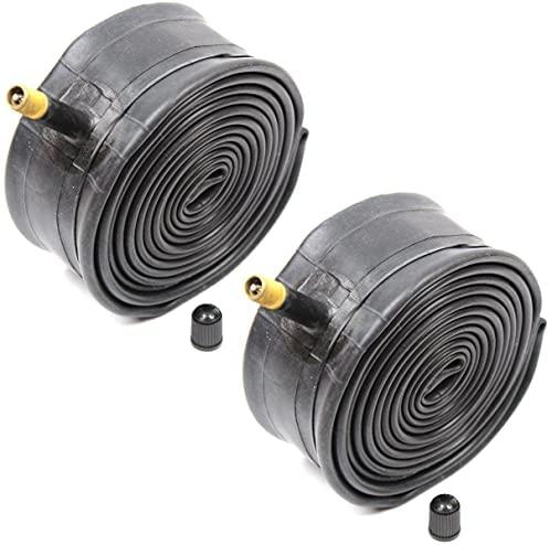 Kenda Inner Tubes Black 26×1.90/1.95/2.10/2.125 Schrader Valve For MTB Mountain Bike, Bulk 2 Pack