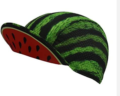 ZSQQ watermeloen fietsmutsen groen rijhoed veiligheid ademend zwart fiets hoofddeksels likephoto