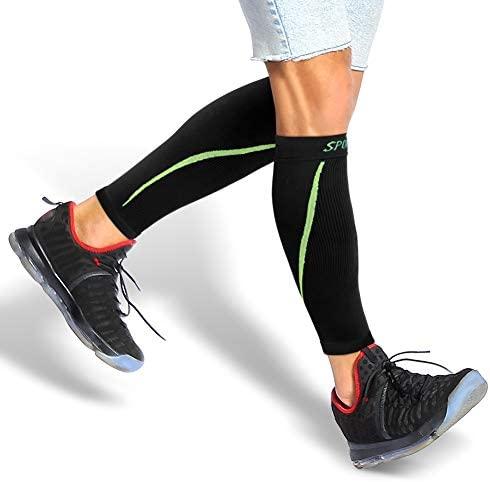 Yosoo Health Gear Calcetines de Compresión para Hombre y Mujer, Medias de Compresión de Running, 20 mmHg-25 mmHg, Aumentar la Circulación Sanguínea y Mejorar el Rendimiento