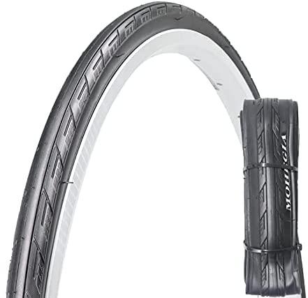 MOHEGIA Bike Tire,700 x 23/25C Road Bicycle Folding Replacement Tire