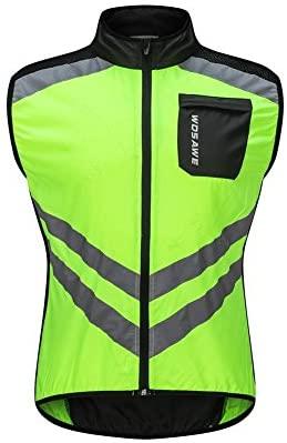 Chaleco De Seguridad Chaqueta De Ciclismo A Prueba De Viento, Fluorescente, Color Naranja, Visera Unisex, Ropa De Seguridad Para Motocicletas, Construcción De Múltiples Bolsillos – M /L /XL /2XL /3XL