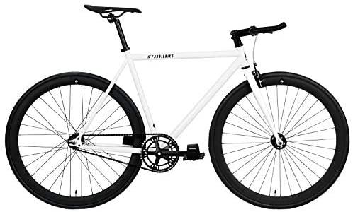 FabricBike Original Pro- Bicicleta Fixie, Piñon Fijo Flip-Flop, Single Speed, Cuadro Hi-Ten Acero, 10,45 kg. (Talla M)