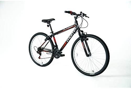 """Moma Bikes Bicicleta Montaña MTB 26"""" CLIMBER, 21vel, frenos V-Brake, llantas de aluminio"""