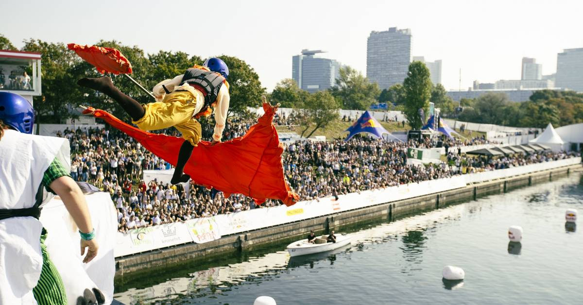 Up, Up, and KERPLOOSH: Watch the Entire Red Bull 'Flugtag' Aviation Competition