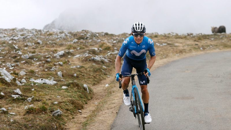 Movistar opsiger kontrakt med Miguel Ángel López efter sammenbrud i Vuelta a España