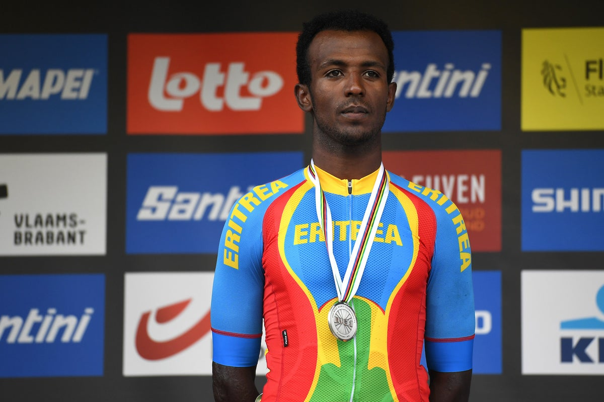 History-maker: Biniam Ghirmay scores first road worlds medal for Eritrea