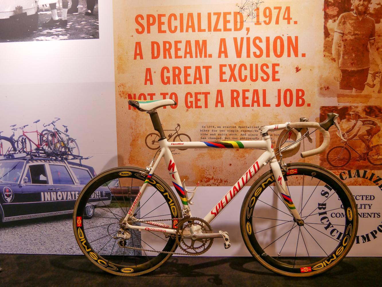 Retro Tech: Mario Cipollini's world champion Specialized E5 bikes
