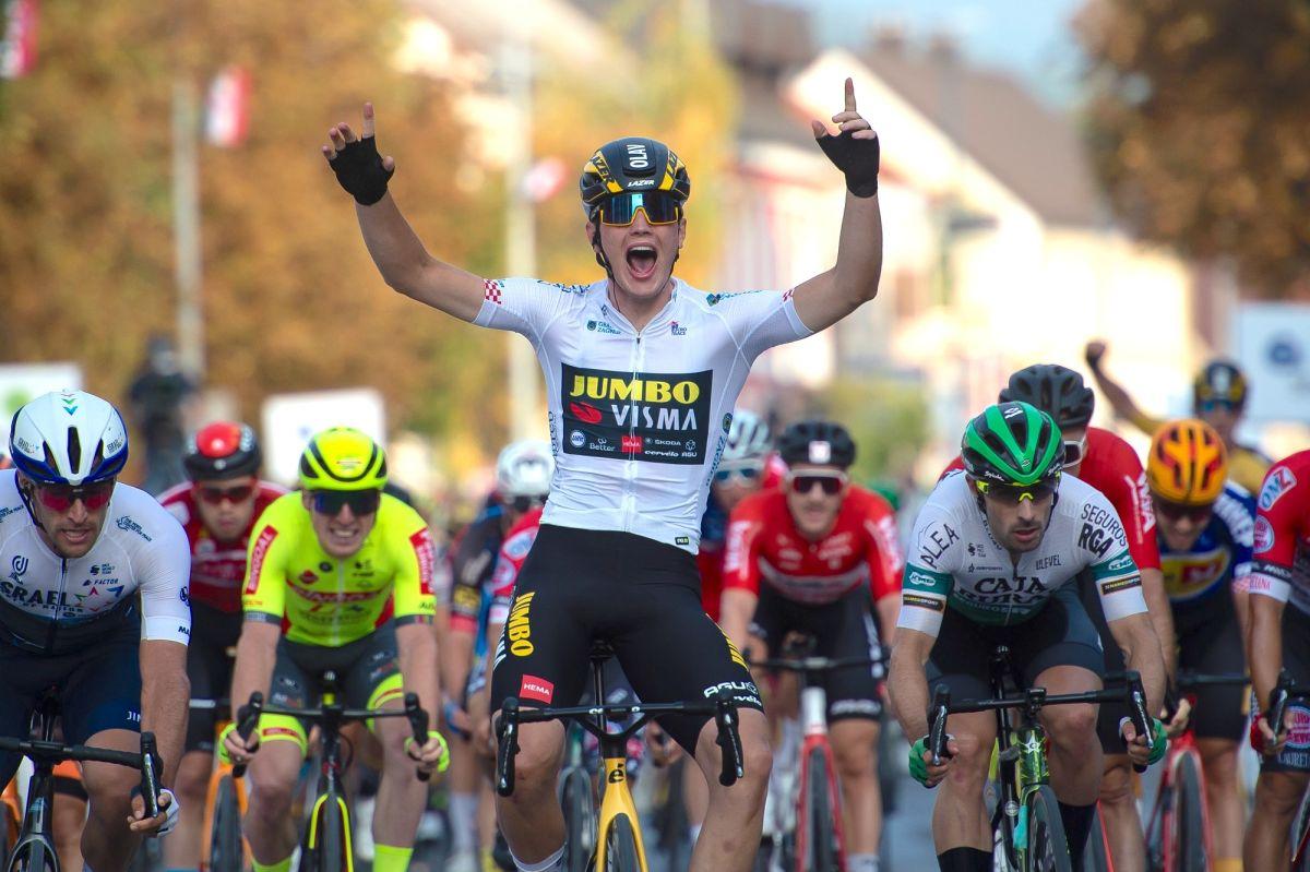 CRO Race: Olav Kooij gewinnt Etappe 4