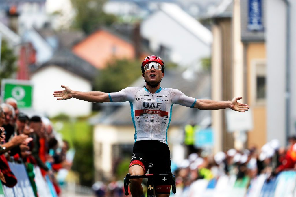 Tour de Luxembourg: Hirschi takes over race lead with stage 2 victory