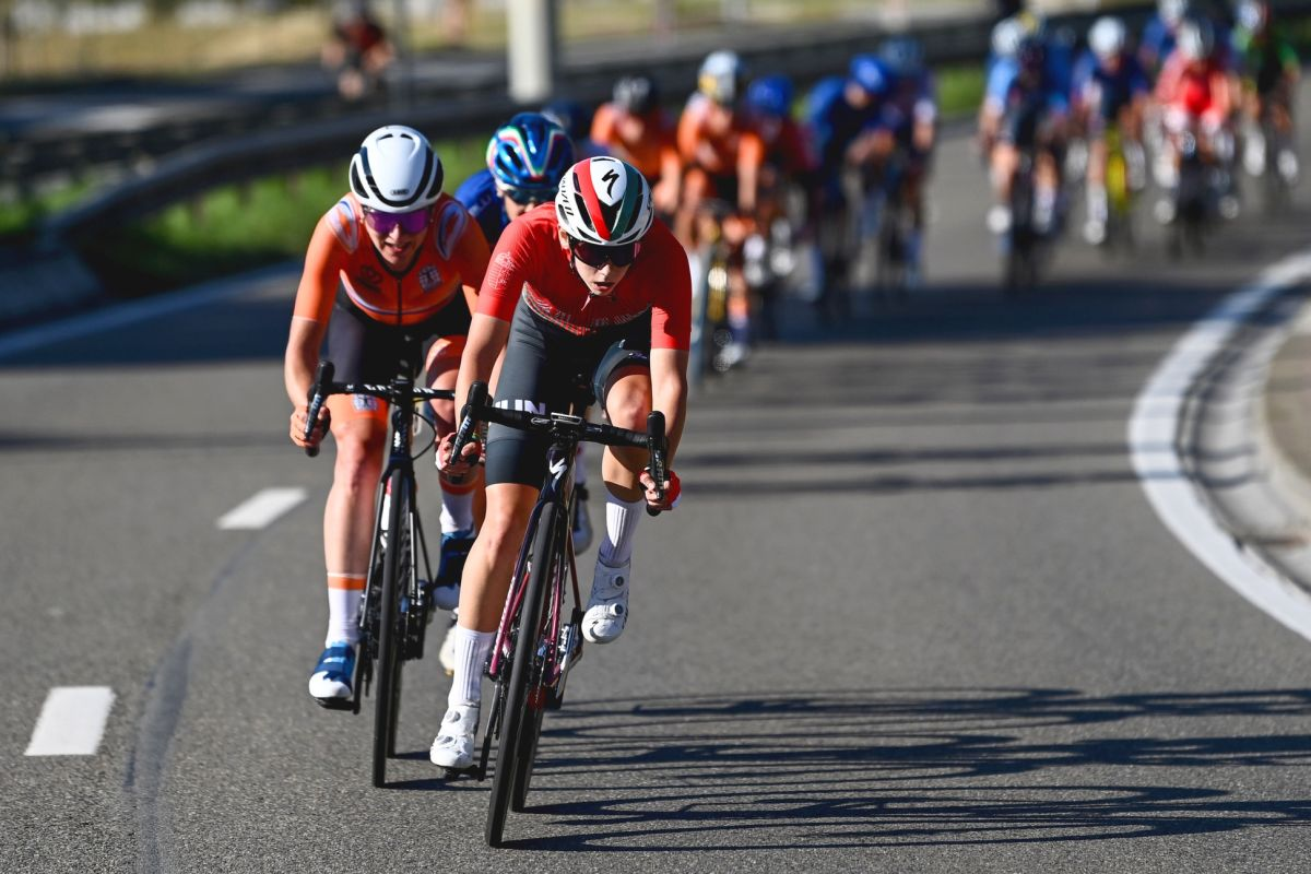 Kata Blanka Vas sprintet als beste U23-Fahrerin bei Weltmeisterschaften auf Platz vier