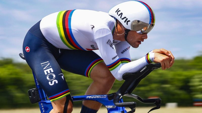 World Championships: Ganna expects race of fine margins in elite men's time trial