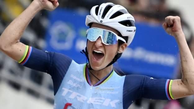 Lizzie Deignan voitti sensaatiomaisen Paris-Roubaix-voiton ensimmäisessä naisten kisassa